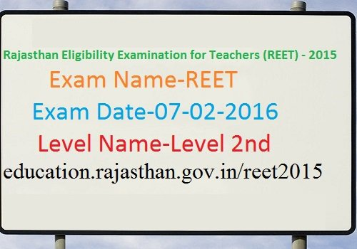 REET Level II Answer key 2017