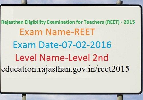 REET Level II Answer key 2020