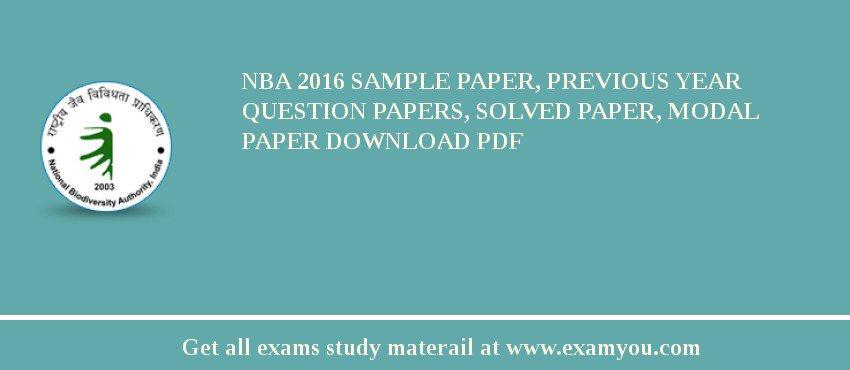 Paper on nba