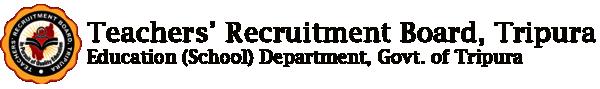 Teachers Recruitment Board Tripura2017