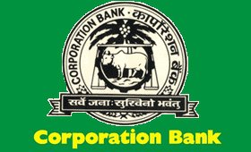 Corporation Bank July 2017 Job  for 20 Manager
