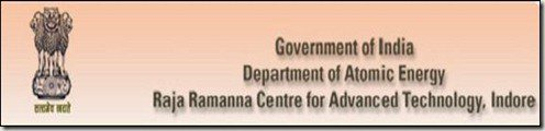 Raja Ramanna Centre for Advanced Technology (RRCAT) February 2017 Job  for Scientific Officer