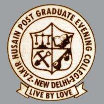 Zakir Husain Post Graduate Evening College2017