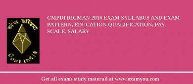 Central Mine Planning Design Institute Limited 2018 Exam Syllabus Admit Card Answer Key