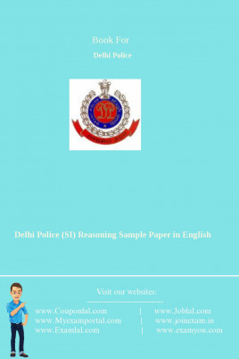 Delhi Police (SI) Reasoning Sample Paper 2018 in English Pdf
